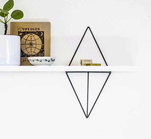 support étagère design tendance salon